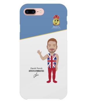 Daniel Purvis iPhone 8 Plus Full Wrap Case